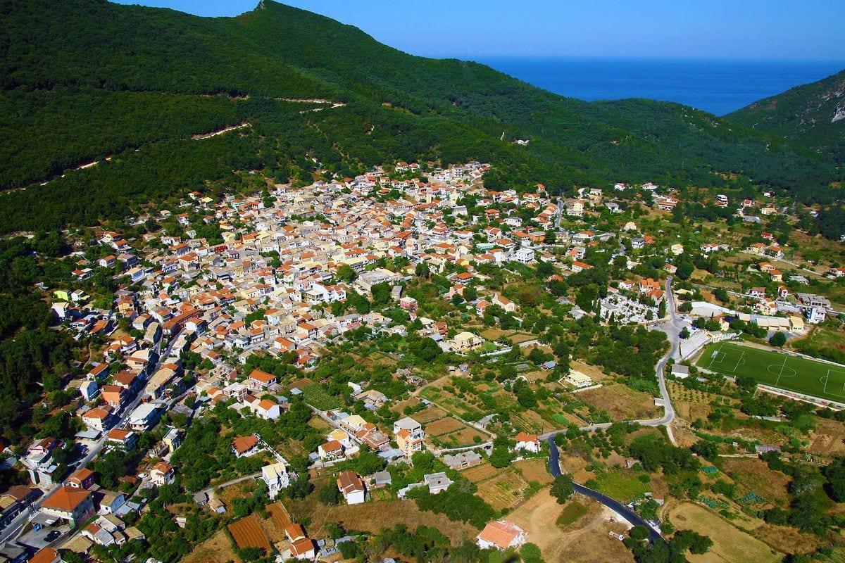 liostasi villas corfu Agios Matthaios